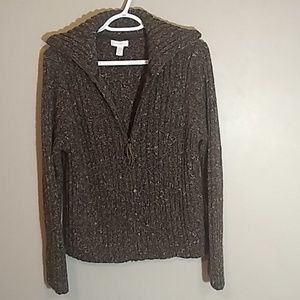 Charter Club full zip sweater